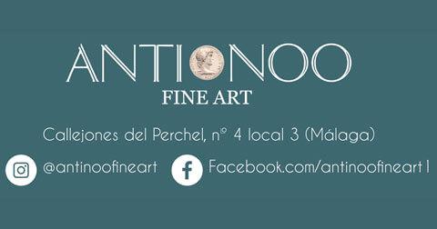 Antinoo fine arts málaga decoracion arte antigüedades