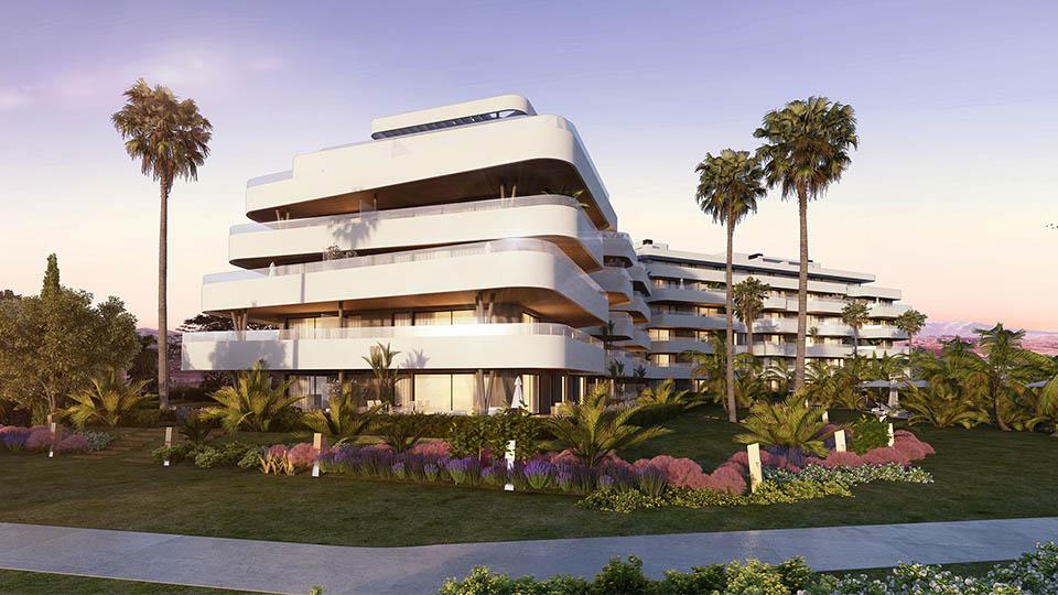 Habitat Alborán - obra nueva en Málaga
