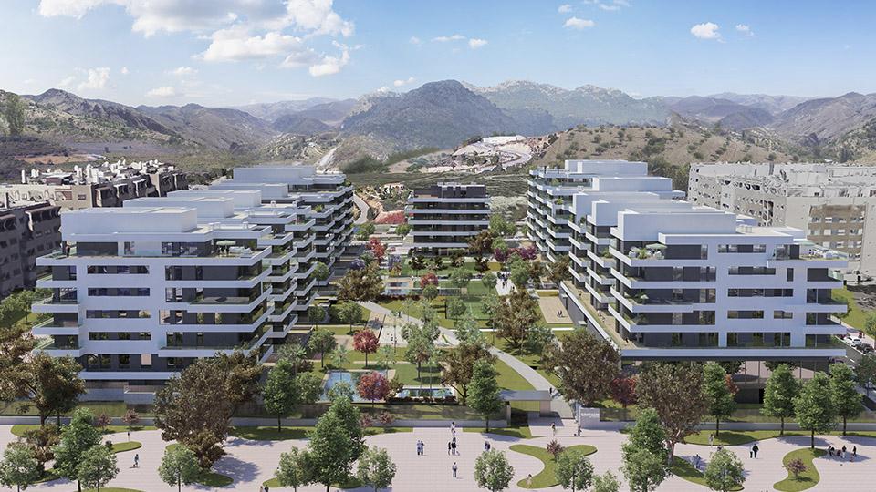 Terrazas de Teatinos - obra nueva en Málaga