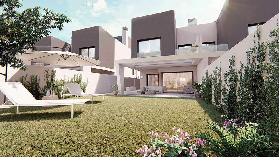 Villa Carmela - obra nueva en Málaga
