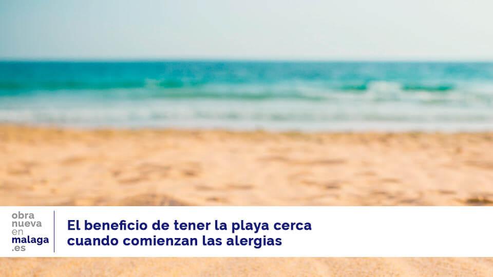 alergias playa