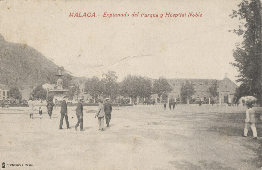 hospital noble málaga antiguo