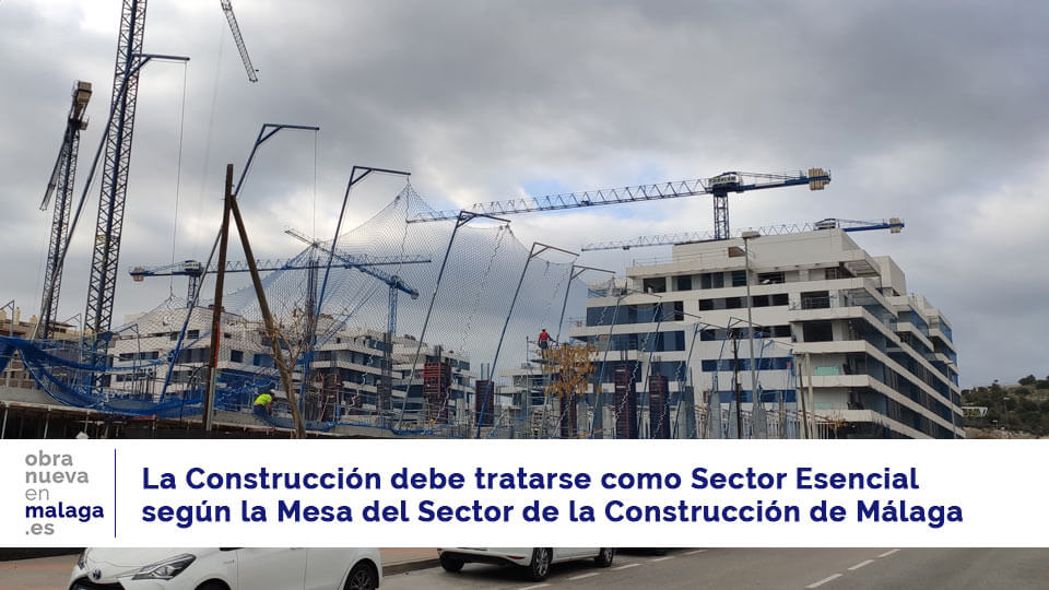mesa del sector de la construcción de málaga