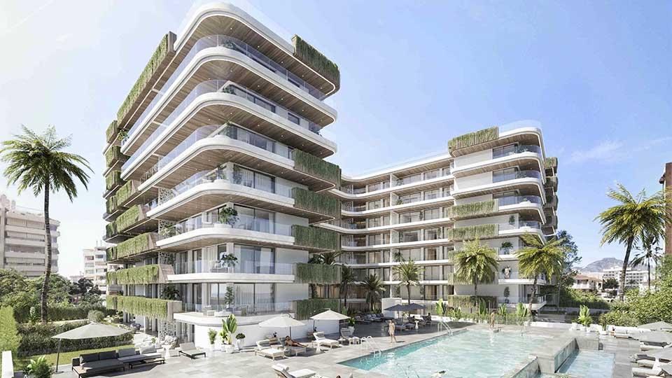 Jade Tower - obra nueva en Málaga