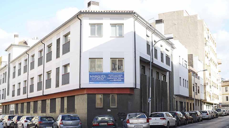 Marques de Cadiz - obra nueva en Málaga