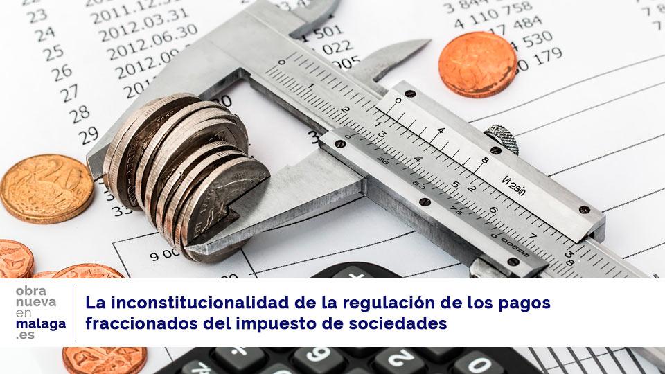 impuesto de sociedades regulación pagos fraccionados