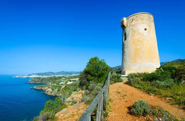 torre de maro torres vigía de málaga