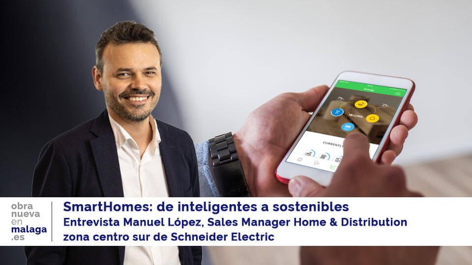 MANUEL LÓPEZ SCHNEIDER ELECTRIC OBRA NUEVA EN MÁLAGA